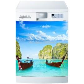 Sticker lave vaisselle ou magnet lave vaisselle Barques