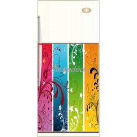 Sticker Frigidaire Arc en Ciel