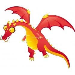 Sticker enfant Dragon