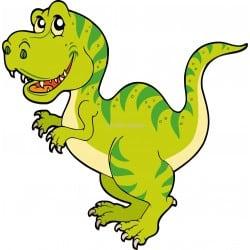 Sticker enfant Dinosaure