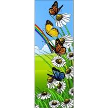 Sticker de porte enfant Papillons