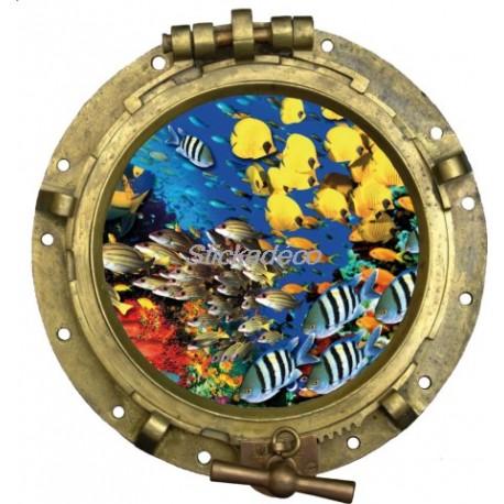 sticker Hublot Aquariun 2