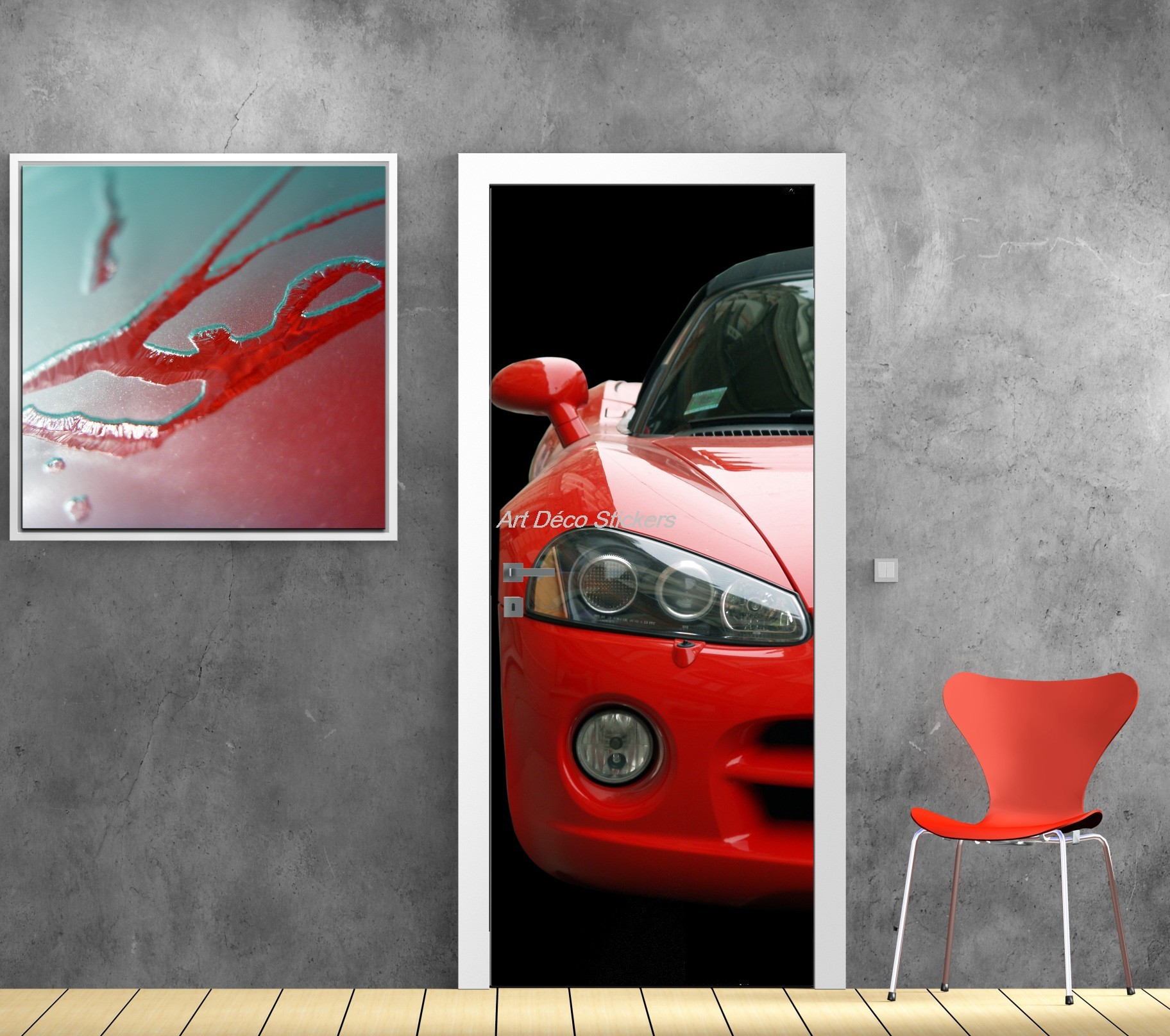 autocollant ferrari pour voiture id e d 39 image de voiture. Black Bedroom Furniture Sets. Home Design Ideas