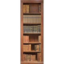 Affiche poster de porte trompe l'oeil Bibliothèque