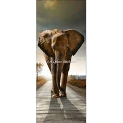 Affiche poster format porte déco Eléphant