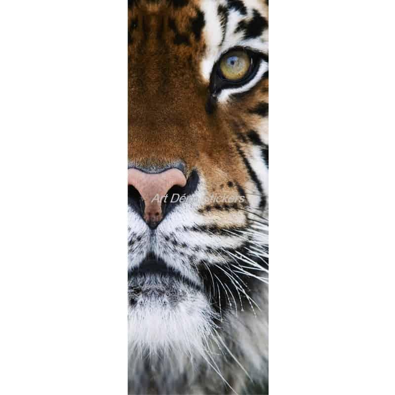 Affiche poster format porte d co tigre art d co stickers for Format porte
