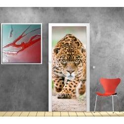 Affiche poster format porte déco Jaguar