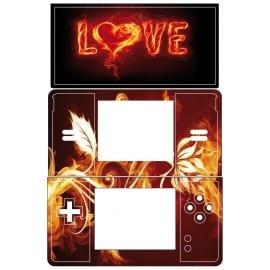 Sticker Autocollant Ds Lite Love