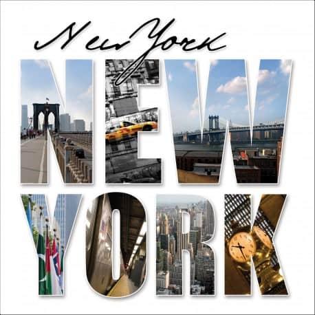 Sticker lave vaisselle ou magnet lave vaisselle New York