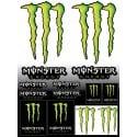 Stickers autocollants pour Moto Monster Energy
