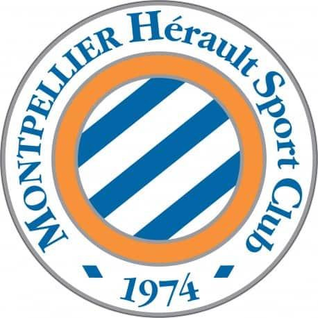Sticker autocollant foot Montpellier MHSC