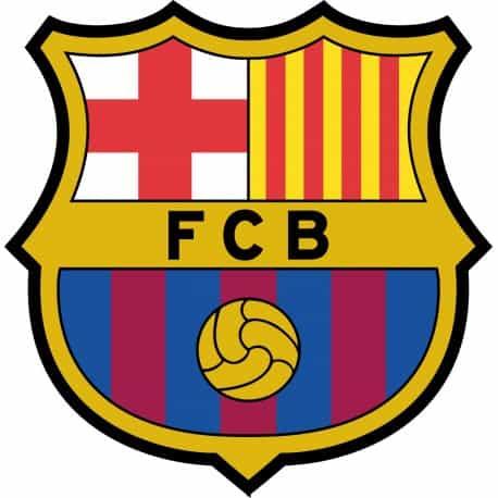 Sticker autocollant foot FC Barcelone