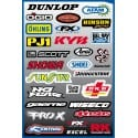 28 stickers autocollants Moto FX2