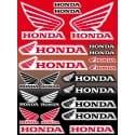 22 Stickers Autocollants moto Honda