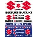 22 Stickers Autocollants moto Suzuki, sticker suzuki