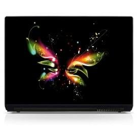Sticker PC portable Papillon