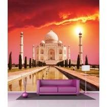 Sticker mural géant Taj Mahal H 2,6 x L 2,6 mètre