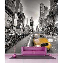 Sticker mural géant New York Taxi H 2,6 x L 2,6 mètre