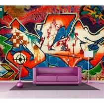 Sticker mural géant graphiti tag 2,6 x3,6 m