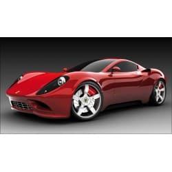 Sticker autocollant Voiture déco murale Ferrari