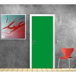 Sticker pour porte déco Couleur Vert