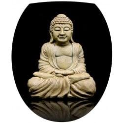 Sticker WC, sticker abattant de WC déco Bouddha