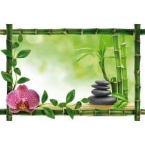 Sticker Bambou déco zen