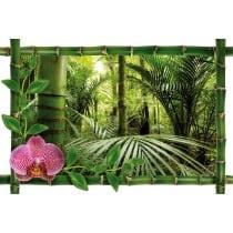 Sticker Bambou déco forêt