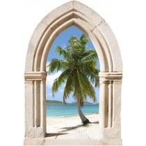 Sticker mural déco palmier