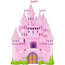 sticker Autocollant Chateau Princesse