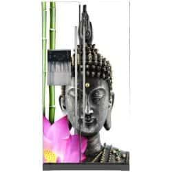 Sticker frigo américain déco Bouddha