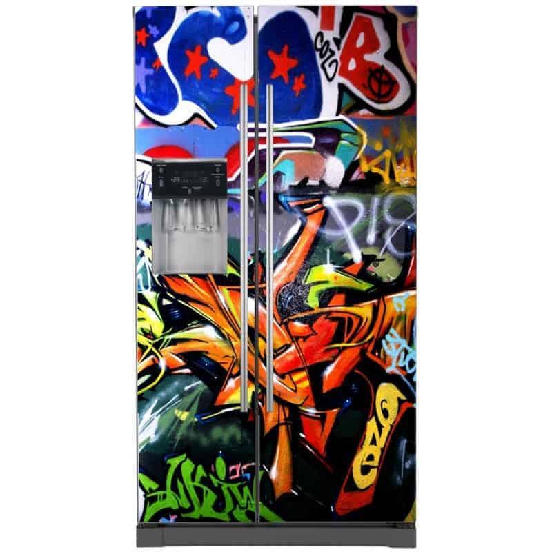 sticker frigo amricain dco tag with sticker frigo leroy merlin. Black Bedroom Furniture Sets. Home Design Ideas