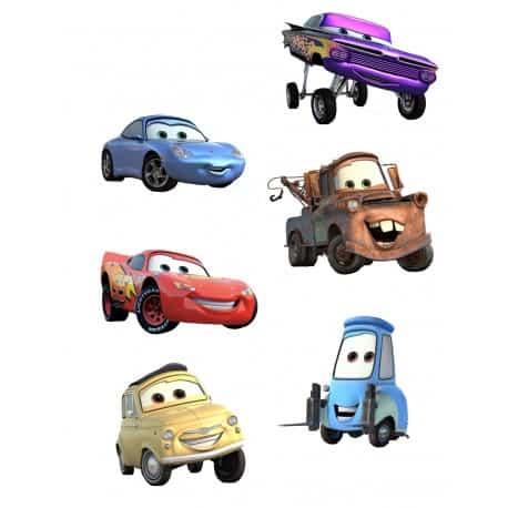 sticker Autocollant Disney Cars