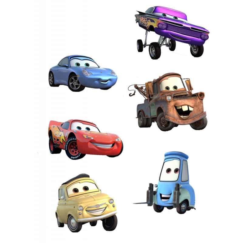 Sticker autocollant enfant disney cars for Autocollants muraux