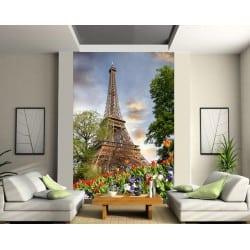 Stickers muraux géant déco : Tour Eiffel