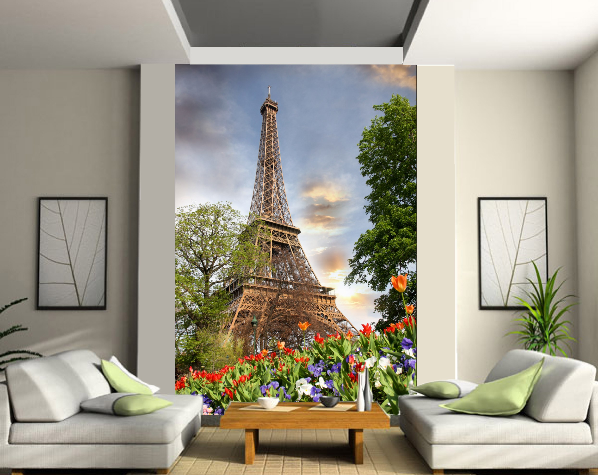 Stickers fenetre cuisine fashion designs for Stickers tour eiffel chambre