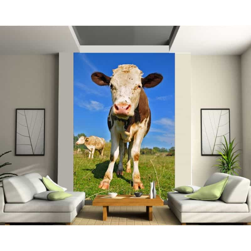 stickers g ant d co vache art d co stickers. Black Bedroom Furniture Sets. Home Design Ideas