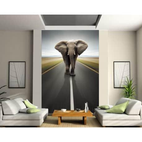 Stickers géant déco : Eléphant