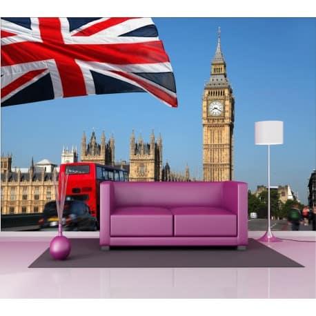 Stickers géant déco : Londres Big Ben