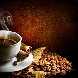 Stickers muraux déco : café