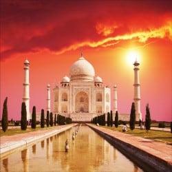Stickers muraux déco :temple Taj Mahal