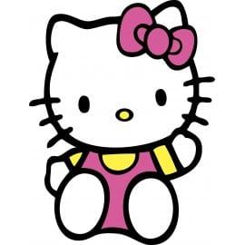 sticker Autocollant enfant hello Kitty