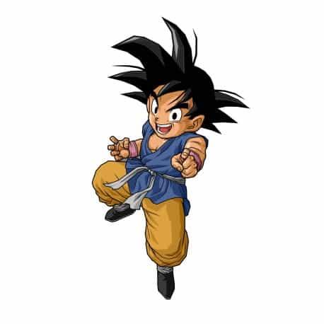 sticker Autocollant Goku-GT