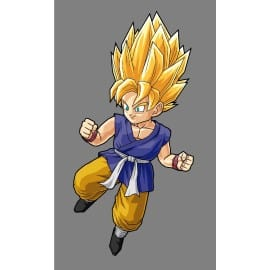 sticker Autocollant enfant Goku-GT-SS