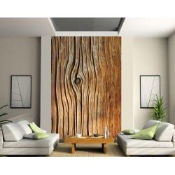 Stickers géant déco : Texture bois