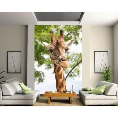 Stickers géant déco : Girafe