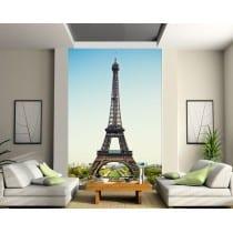 Stickers géant déco : Tour Eiffel