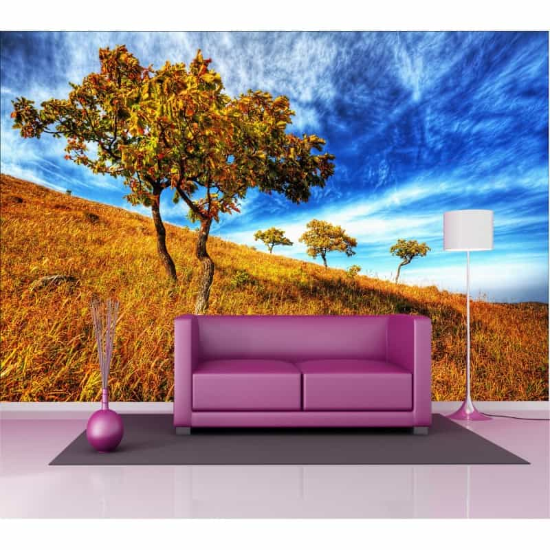 Stickers g ant d co arbres art d co stickers - Sticker mural geant ...
