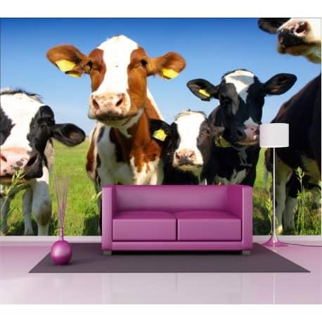 Stickers géant déco : Vaches