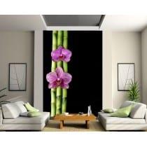 Stickers géant déco : Orchidées